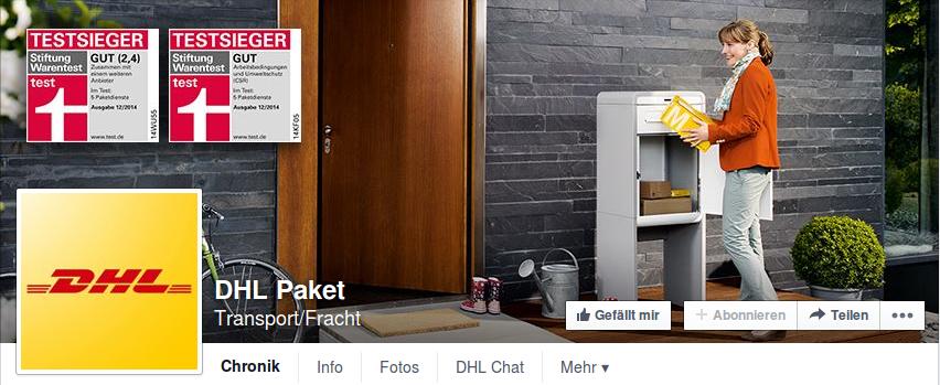 DHL Paket_Facebook